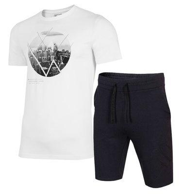 Zestaw męski 4F SKMD015 koszula i spodenki
