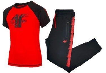 Zestaw sportowy treningowy 4F koszulka spodnie