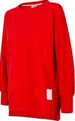Bluza damska OUTHORN BLD601 czerwona ciepła