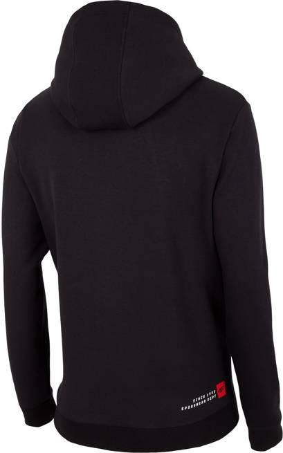 Bluza męska na zamek 4F BLM012 czarna