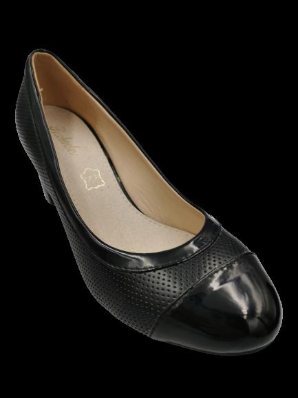 Buty damskie na słupku X752-1 czarne 36