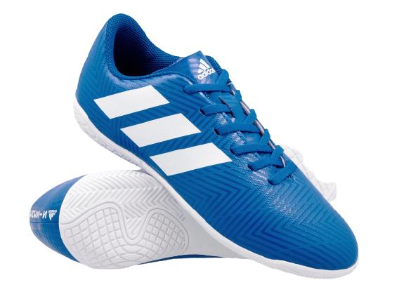 Buty dziecięce halówki ADIDAS DB2384 niebieskie 28