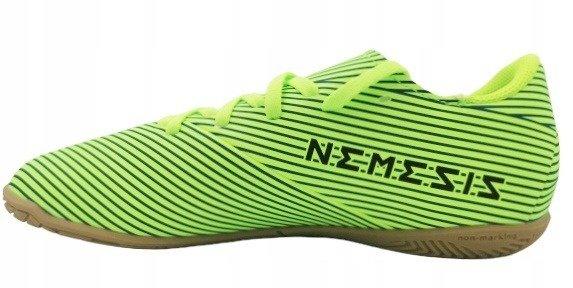 Buty halowe dziecięce ADIDAS FV4012 zielone