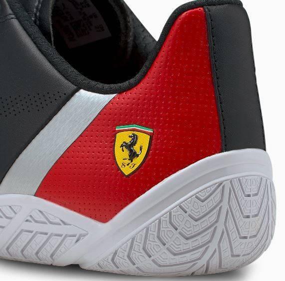 Buty męskie PUMA Ferrari 306667 01 czarne