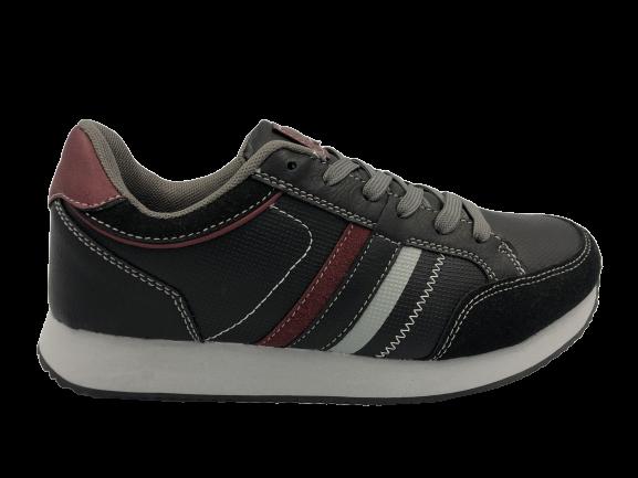 Buty sportowe młodzieżowe adidasy B9015 czarne