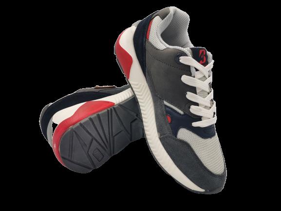 Buty sportowe młodzieżowe adidasy szare B0058-12