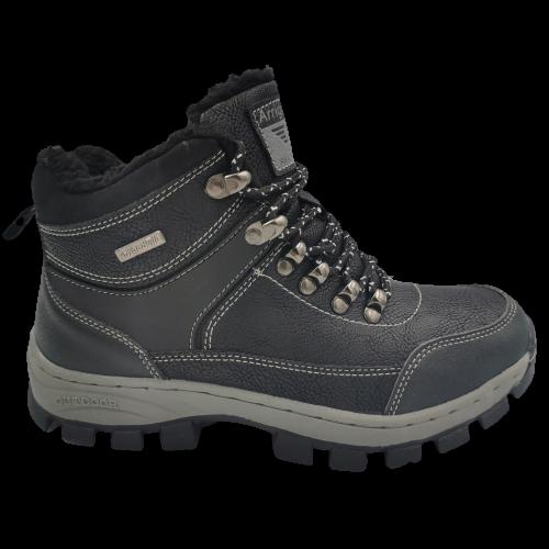 Buty zimowe młodzieżowe BM98493-1 trapery czarne
