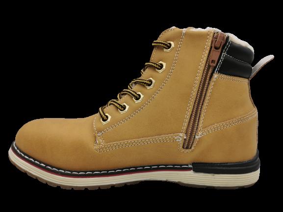 Buty zimowe trapery dziecięce YE-1 36 brąz 36