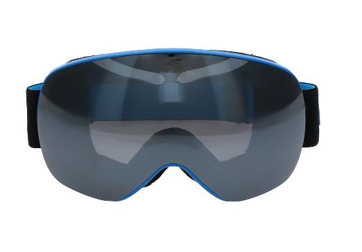 Gogle narciarskie 4F GGM060 niebieskie one size