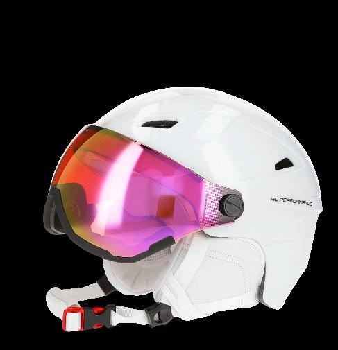 Kask narciarski damski 4F KSD001 BIAŁY