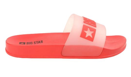 Klapki damskie BIG STAR FF274A202 czerwone