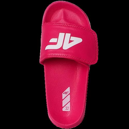 Klapki dziecięce 4F JKLD003 różowe
