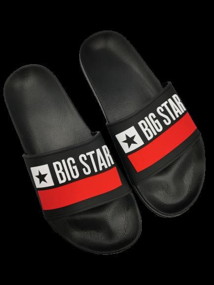 Klapki męskie BIG STAR GG174936 czarne