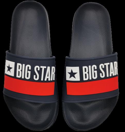 Klapki męskie BIG STAR GG174937 granatowe