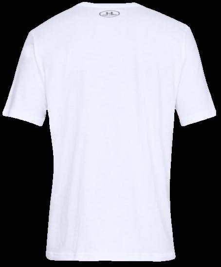 Koszulka męska Under Armour 1329582-100 biały