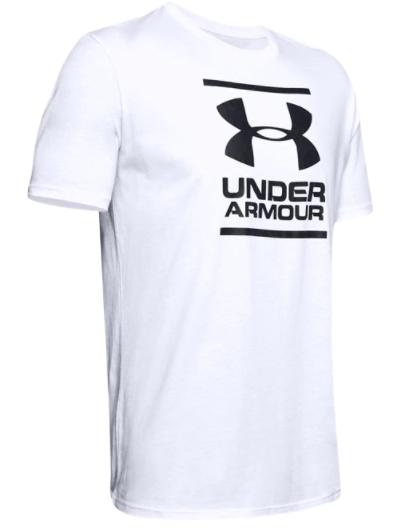 Koszulka z krótkim rękawem Foundation biała
