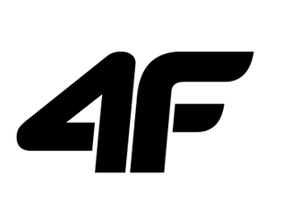 Kurtka męska  SOFTSHELL 4F SFM003 czarna