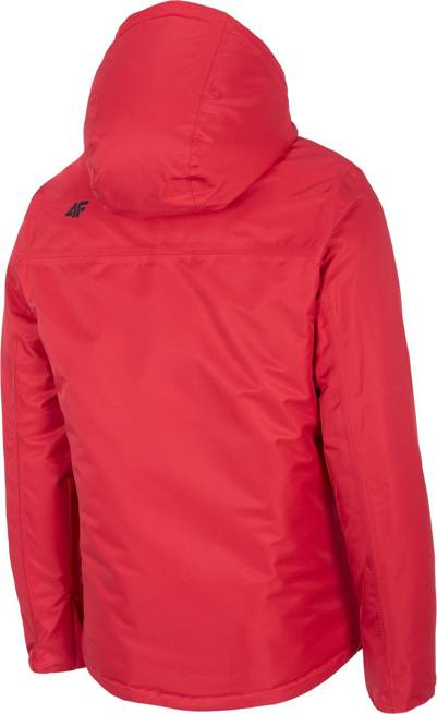 Kurtka narciarska męska 4F KUMN001 czerwona