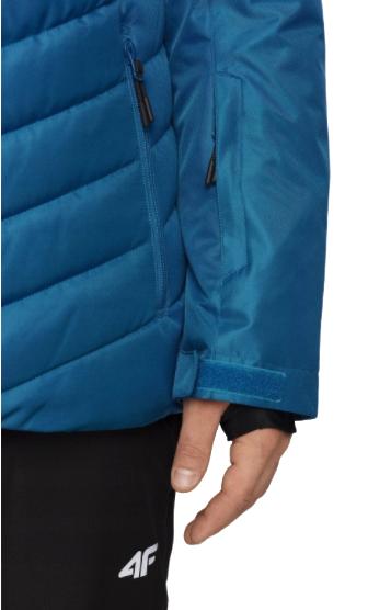 Kurtka narciarska męska 4F KUMN004 niebieska