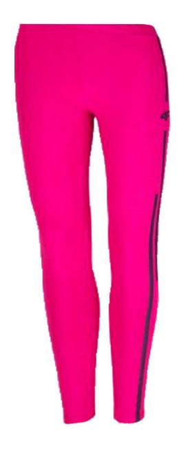 Legginsy dziewczęce 4F JLEG005 różowe