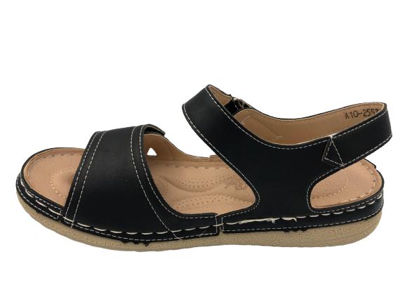 Obuwie medyczne sandały zdrowotne 255330-1 czarne