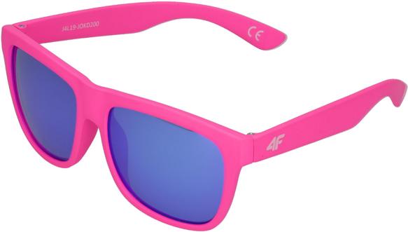 Okulary przeciwsłoneczne 4F JOKD001 różowe