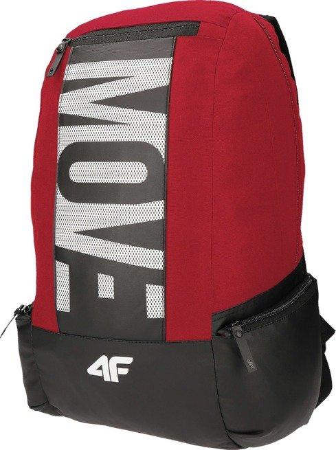 Plecak sportowy szkolny 4F PCU014 czerwony