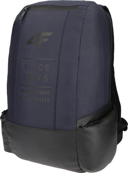 Plecak szkolny 4F miejski sportowy granat