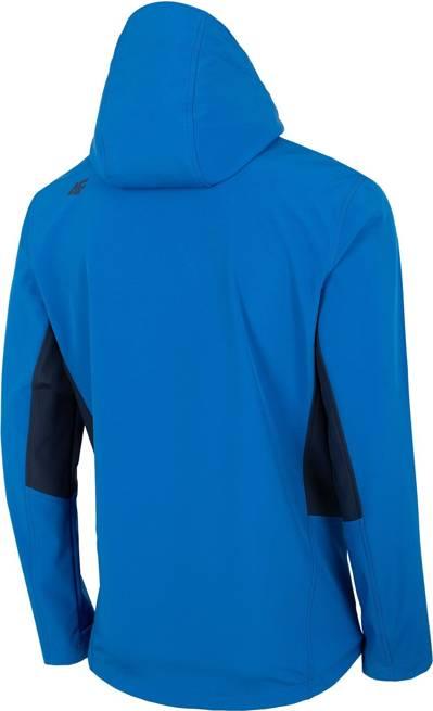 Softshell męski 4F SFM003 kurtka niebieska