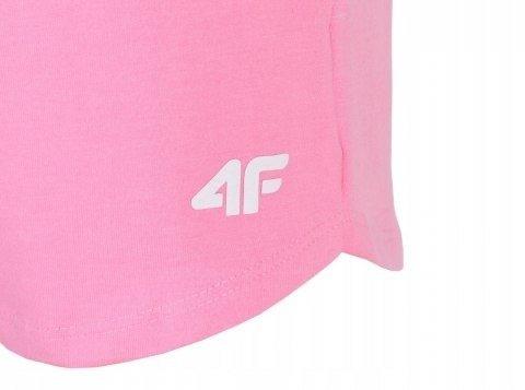 Spodenki dziewczęce szorty 4F JSKDD001A różowe