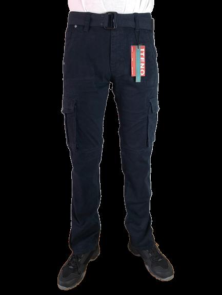 Spodnie bojówki myśliwskie granat 1672 8