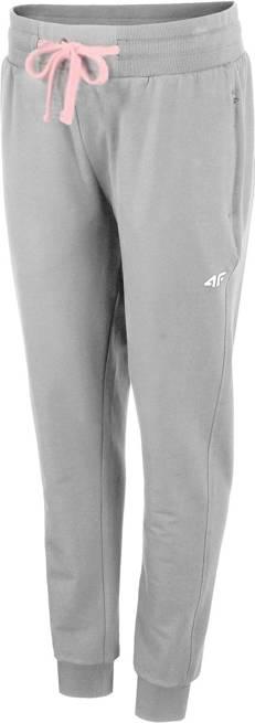 Spodnie damskie 4F SPDD010 dresowe szare