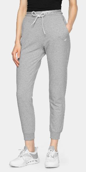 Spodnie damskie 4F SPDD011 dresowe szare