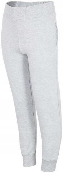 Spodnie dresowe dziecięce 4F JSPDD002 szare 152cm