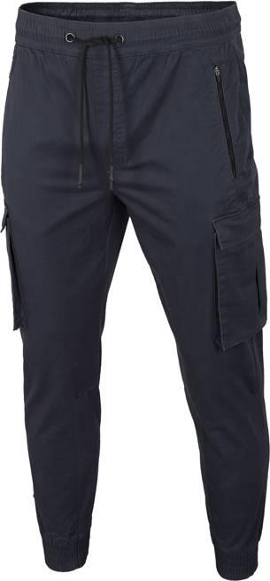 Spodnie męskie 4F SPMC010 bawełniane granatowe