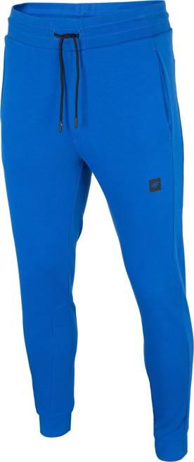 Spodnie męskie 4F SPMD015 dresowe niebieskie