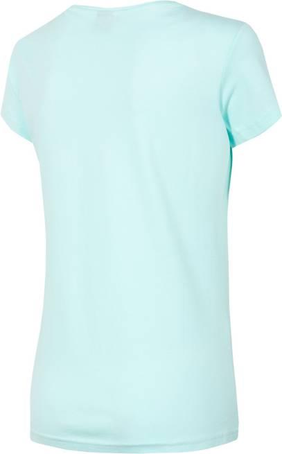 T-shirt damski 4F TSD013 błękitny bawełniany