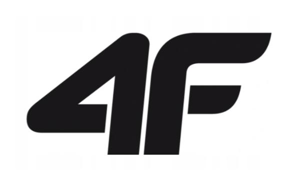 T-shirt damski fitness 4F TSDF002 czarna XS