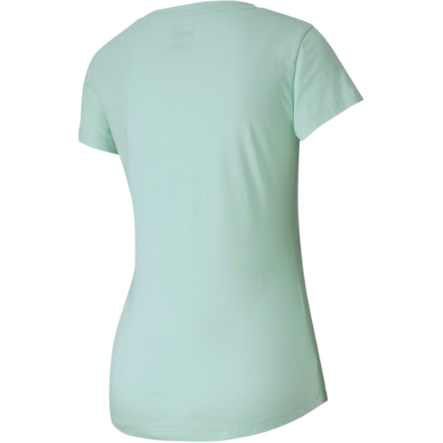 T-shirt damski miętowy bawełna PUMA