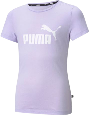 T-shirt dziecięcy PUMA 58702916 bawełna fiolet