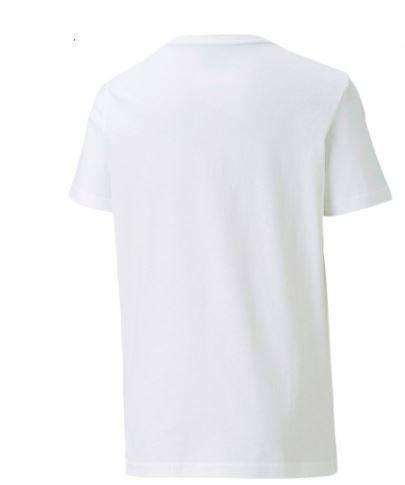 T-shirt dziecięcy Puma 583230 02 biały