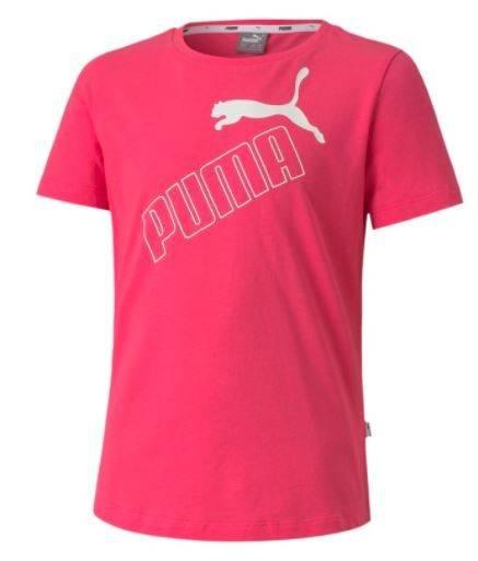 T-shirt dziewczęcy PUMA 583295 25 koszulka róż