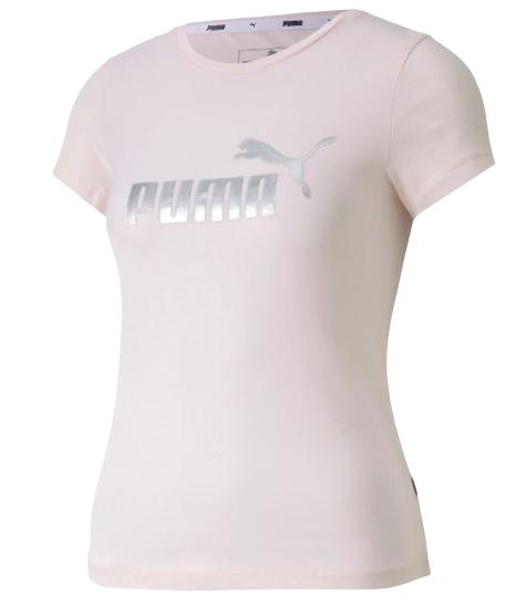 T-shirt dziewczęcy PUMA koszulka 582556 RÓŻ