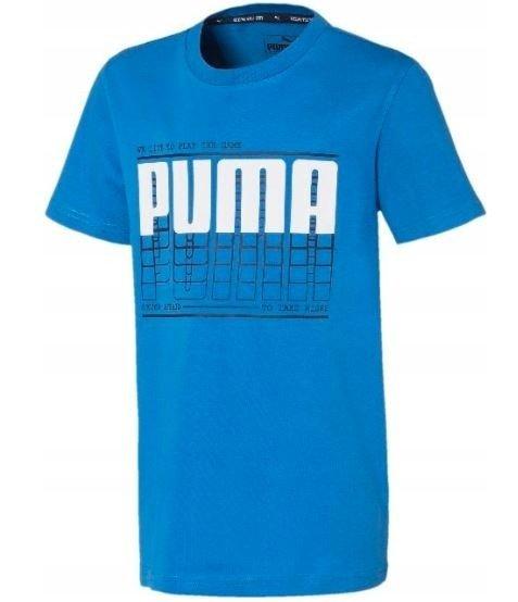 T-shirt koszulka PUMA 581173 78 niebieska