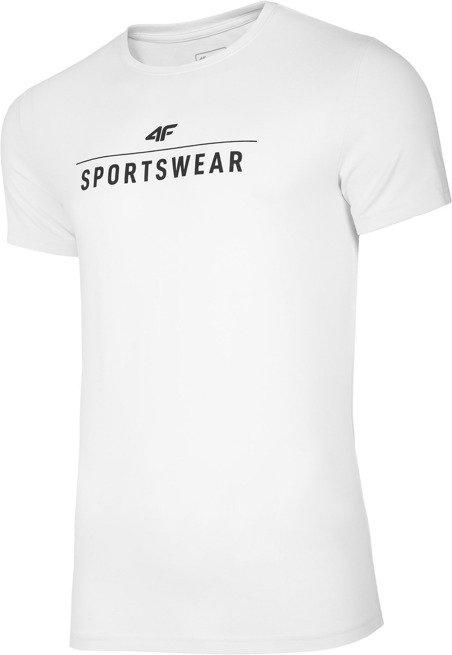 T-shirt, koszulka bawełniana 4F TSM005 biała