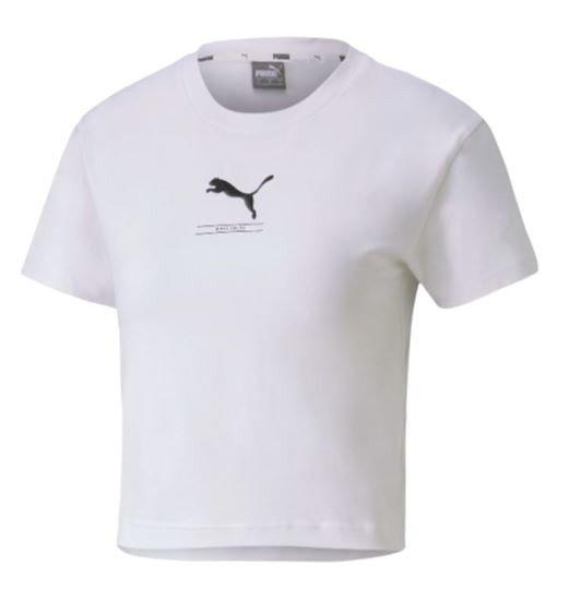 T-shirt koszulka damska PUMA 581377 02 biały