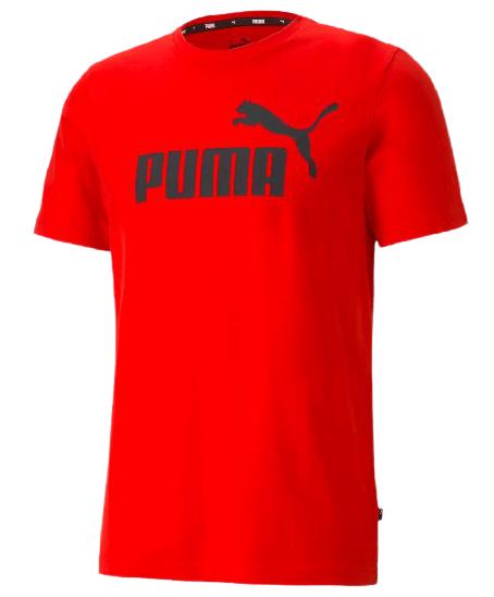 T-shirt koszulka męska PUMA 586666 11 czerwona