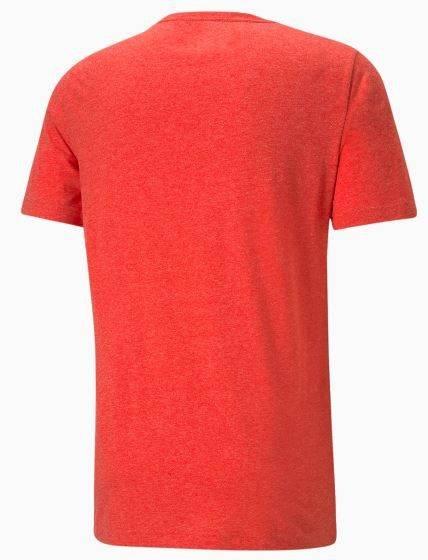 T-shirt koszulka męska PUMA 586736 11 czerwona