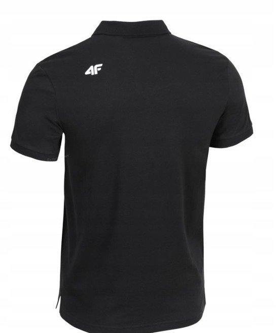 T-shirt męski 4F TSM007 GŁĘBOKA CZERŃ