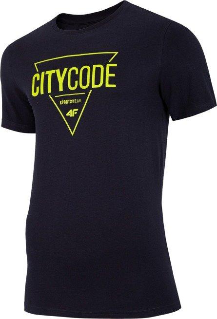 T-shirt męski 4F TSM011 GRANAT